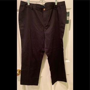 NWT Lauren black pants.